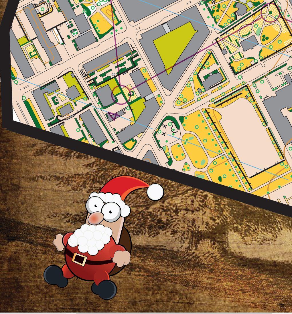 A1 Löpning Julspecial runt i Uppsala